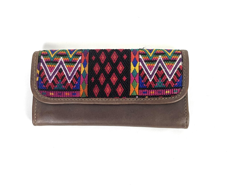 Mayan Leather Wallet -