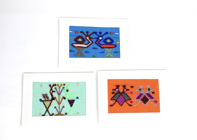 Mayan Greeting Cards - Set of 3
