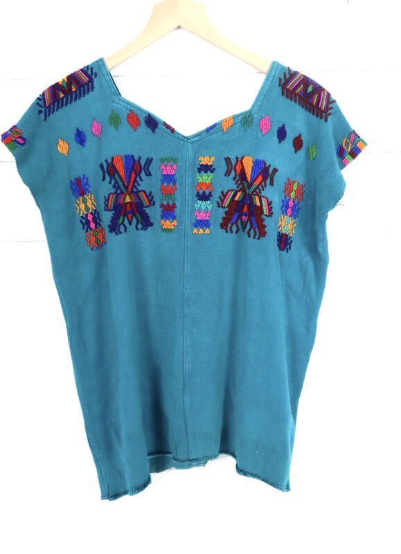 ​Huipil | Hand Woven Blouse | Vintage Top - Chajul (MEDIUM)