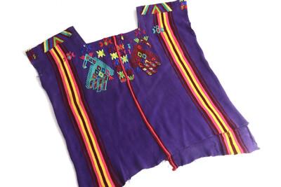 Vintage Huipil | Hand Woven Blouse |  - Chajul (Small/Medium)