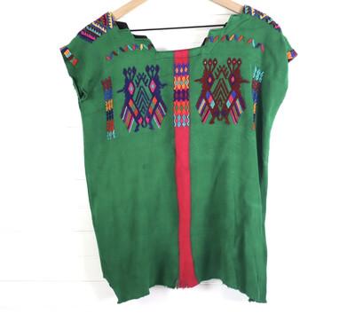 Huipil | Vintage Top - Chajul (SMALL/M/LONG)