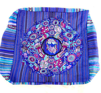 Guatemalan Pouf - No. 145