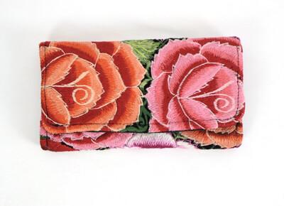 Vintage Huipil Wallet