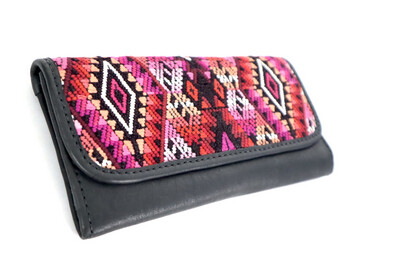 Mayan Leather Wallet