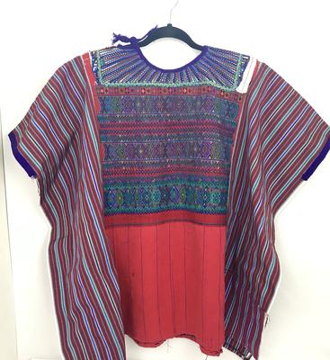 Huipil | Hand Woven Blouse | Vintage Top - Todos Santos