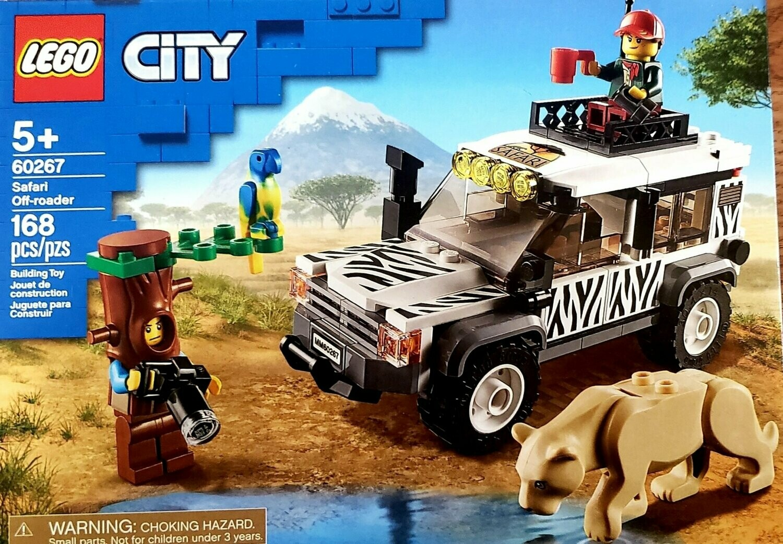 NEW 2020 LEGO 60267 City All Terrain Safari Off-Roader Vehicle Adventure