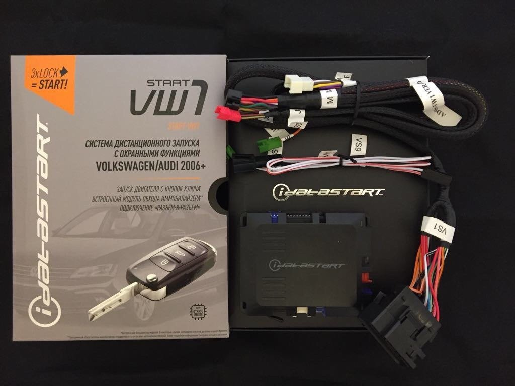 Система дистанционного запуска iDatastart-VW1