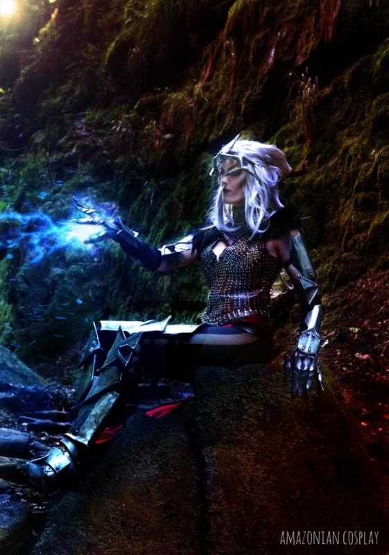 Asha'bellanar -  Flemeth Dragon Age Print