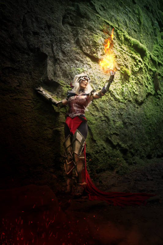 Witch of the Wilds - Flemeth Dragon Age Print