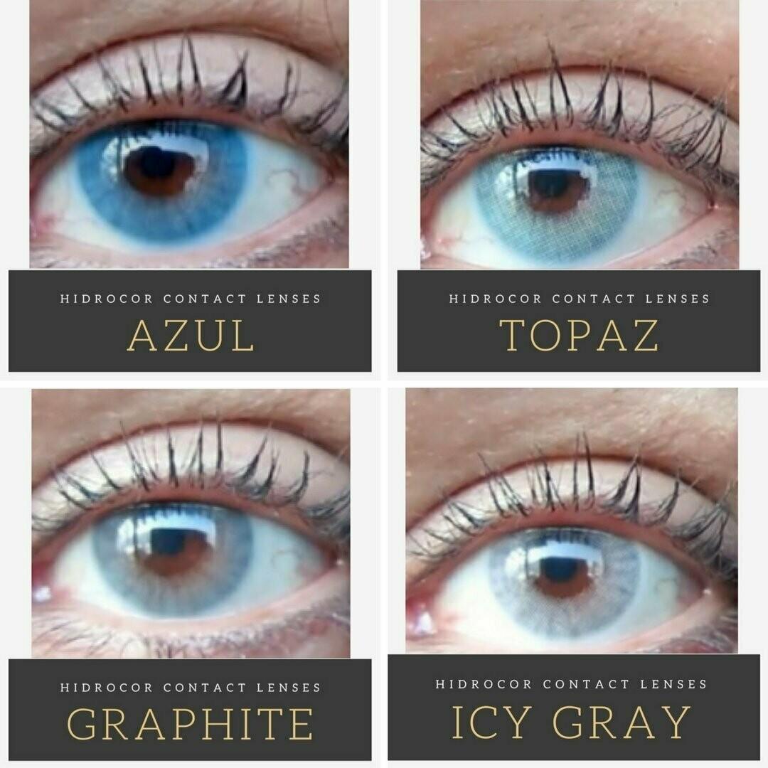 Hidrocor Colored Contacts 2 Natural Lenses