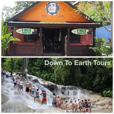 Combo Tour Dunn's River and Bob Marley (Nine Miles)
