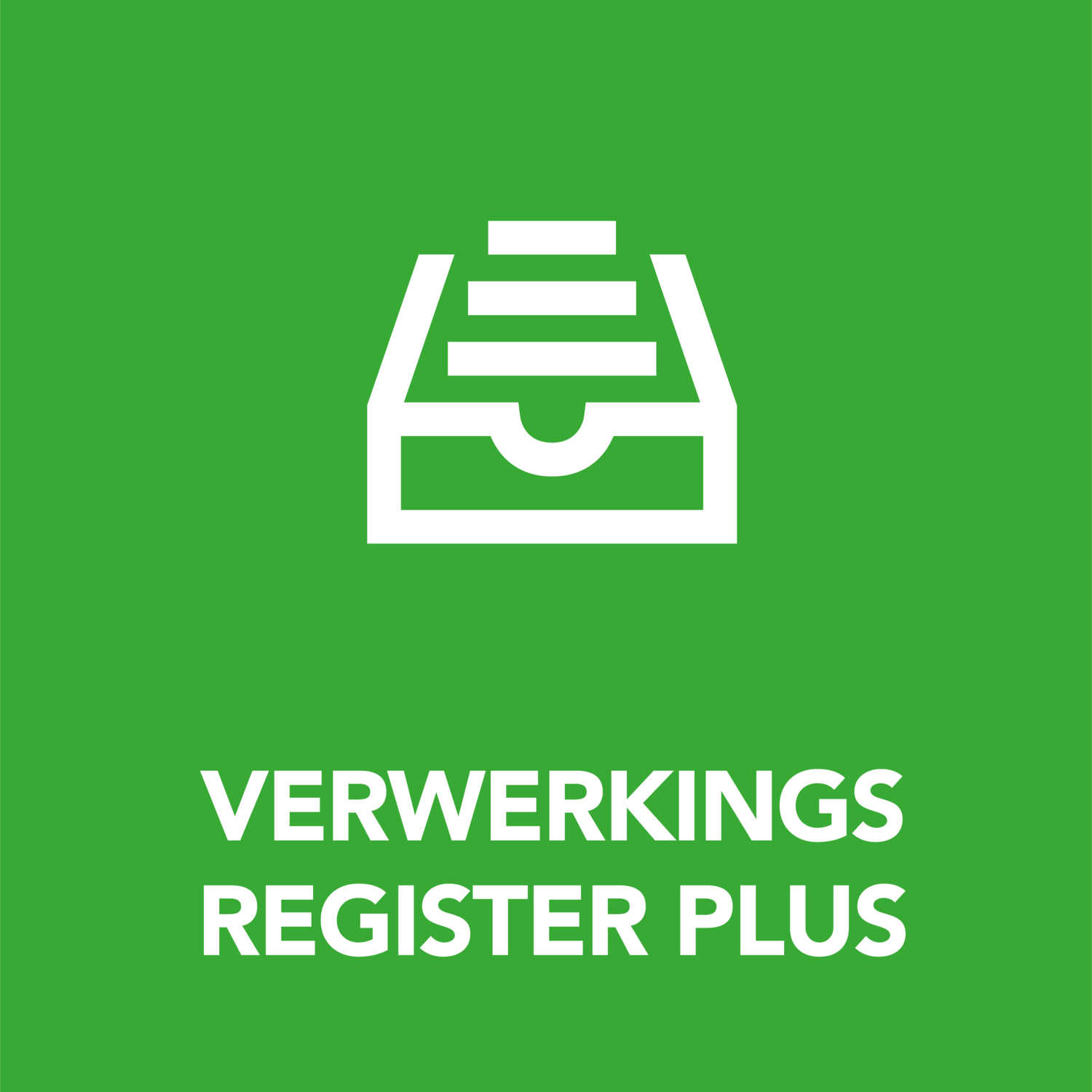 READY Verwerkingsregister Plus
