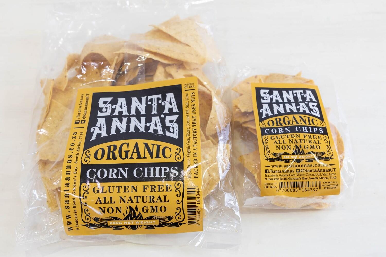 Santa Annas Organic Corn Chips