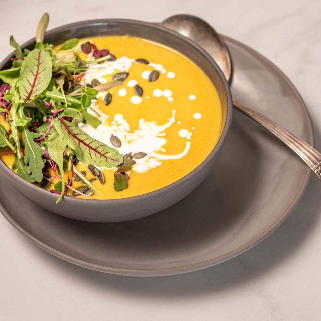 Thai butternut soup