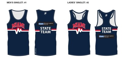 Miami Swimming Club State Team Singlet 2020