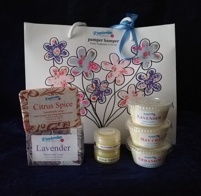 Pamper Hamper - a selection of body and shower products (not bath).