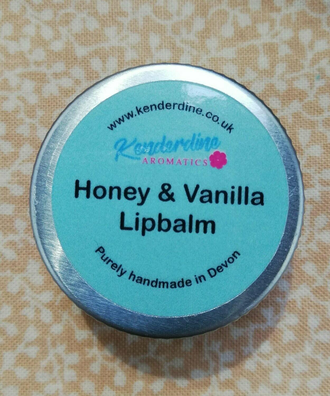 Honey and vanilla lip balm