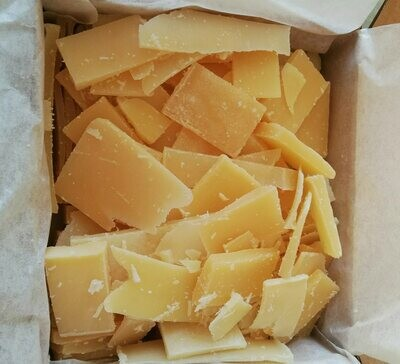 Soap trimmings and offcuts