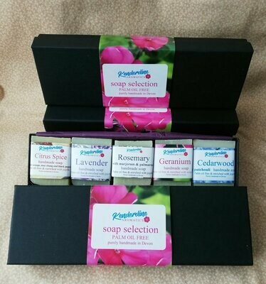 Mini soap selection box