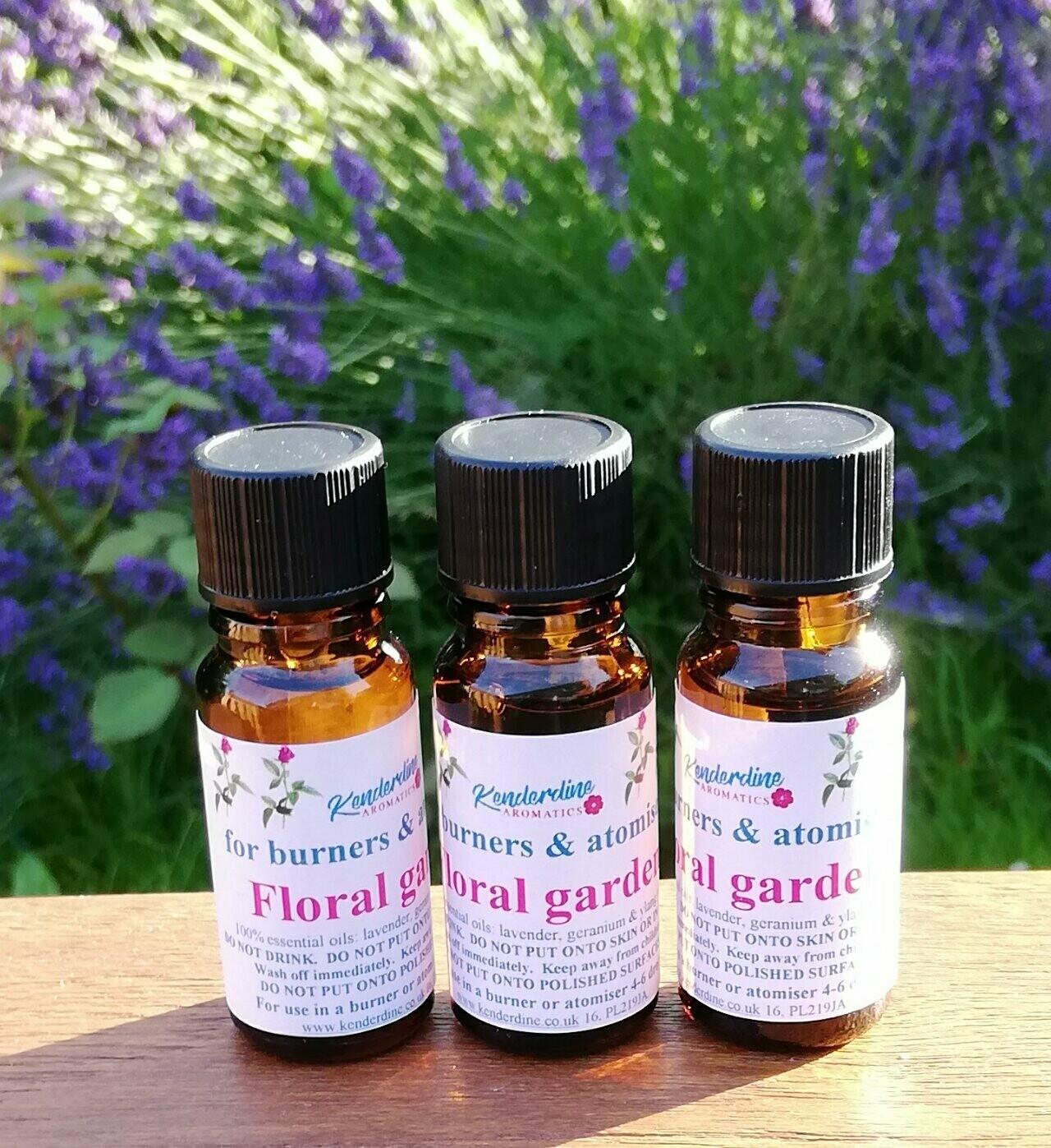 Essential oil blends - Floral garden