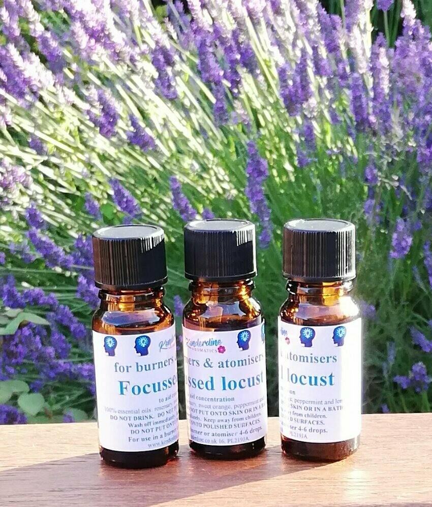 Essential oil blends - focussed locust