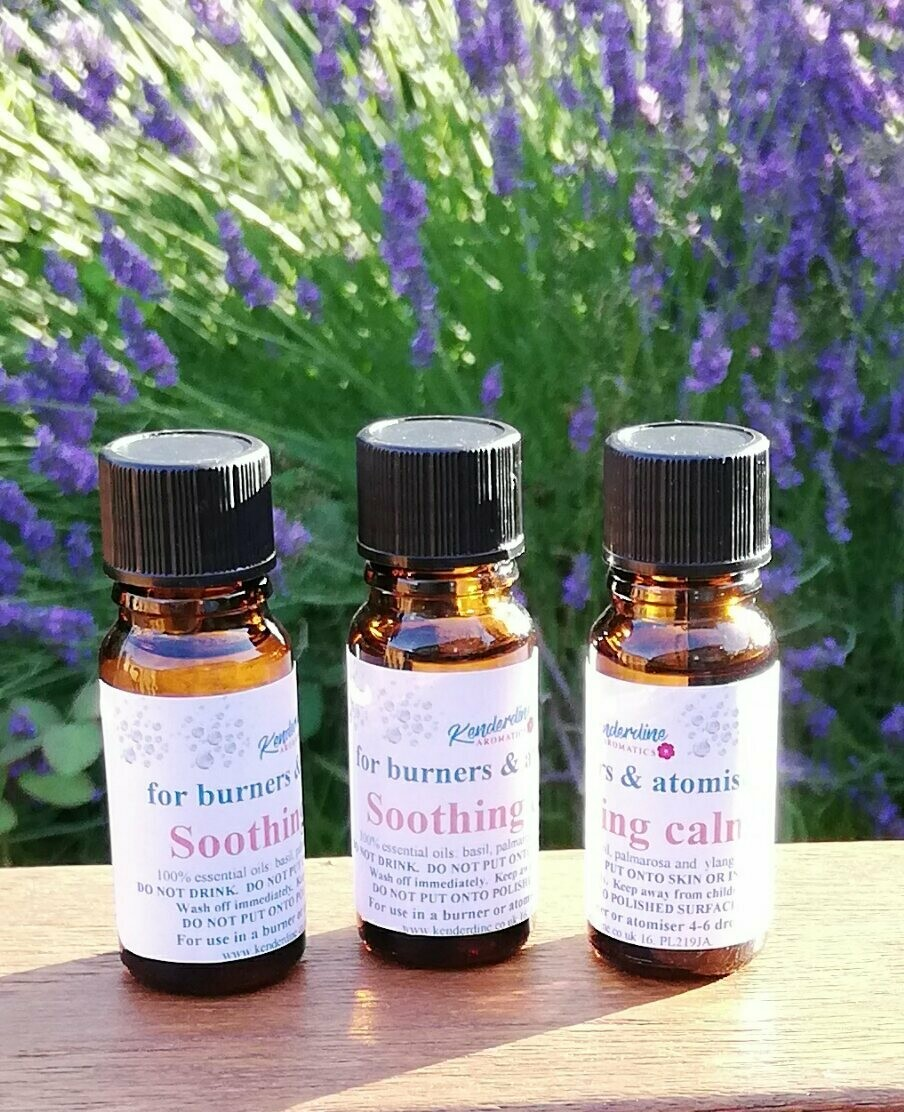 Essential oil blends - soothing calm
