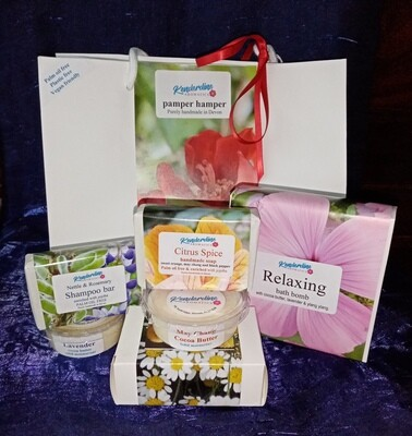 Pamper Hamper - bath and body selection