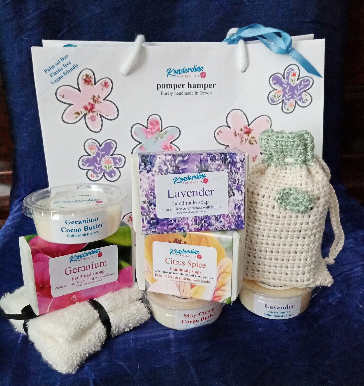Pamper Hamper gift bag - non bath.