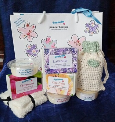 Pamper Hamper gift bag - non bath.