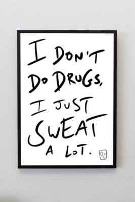 'Drugs' A4 Print