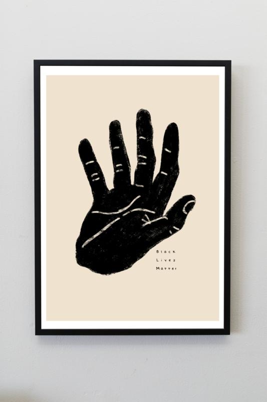 BLM A4 Print by Lemongraphs