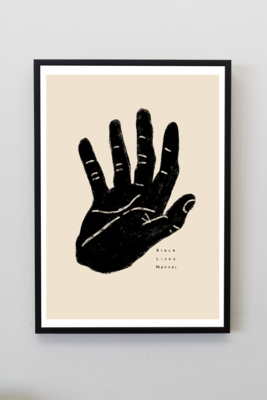 BLM A4 Print by Lemongraphs