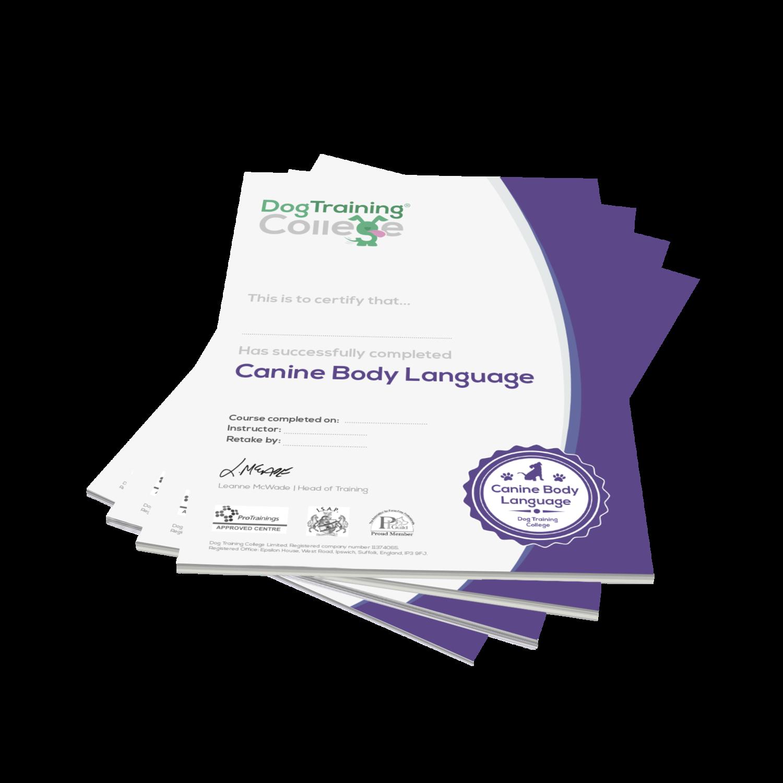 CBL Certificates (Pack of 25)