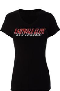 EETC Ladies V-Neck Tee-Shirt
