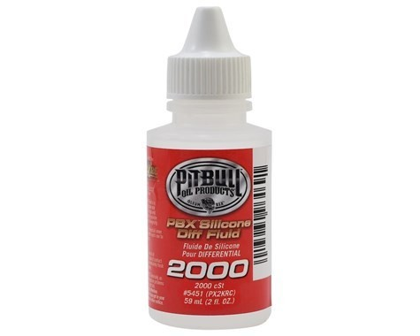 Pit Bull Tires PBX Silicone Differential Fluid (2,000cst)