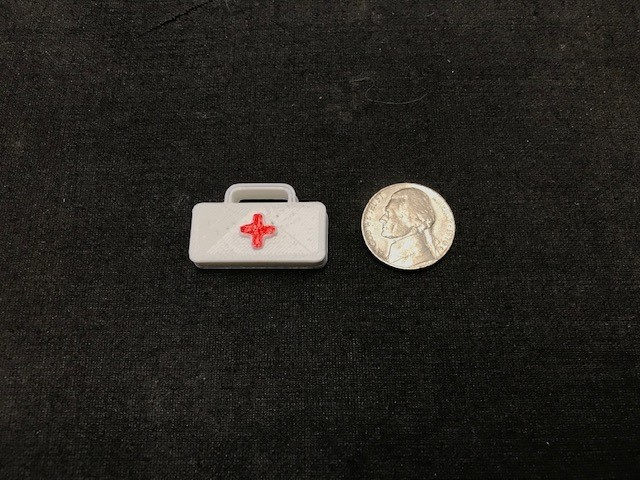 Scale first aid kit
