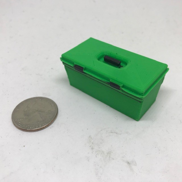 Scale tool box (Green)