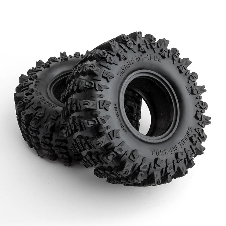"Gmade MT1904 1.9"" Off-Road Tires for Crawlers and Scale Rigs (1 pair)"