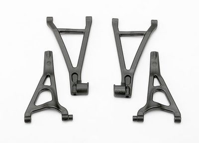 Traxxas Suspension arm set, front (includes upper right & left and lower right & left arms)