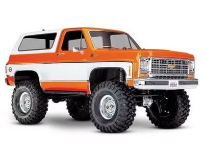 Traxxas TRX-4 1/10 Trail Crawler Truck w/'79 Chevrolet K5 Blazer Body (Orange)
