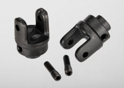 Traxxas Differential output yokes, heavy duty (2)/ screw pin (2)