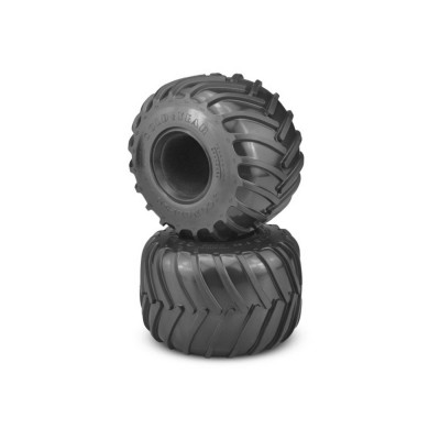 JConcepts Golden Years Monster Truck Tire Blue Compound