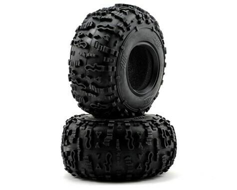 "HB Racing Rover 2.2"" Rock Crawler Tires (2) (white)"