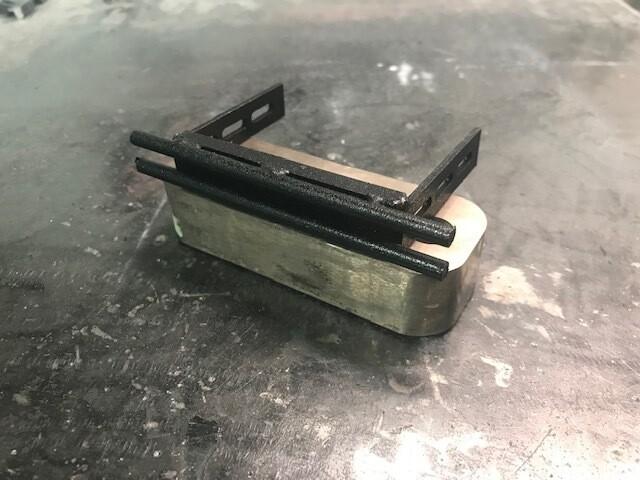 Comp Spec Steel Shorty Rear Bumper