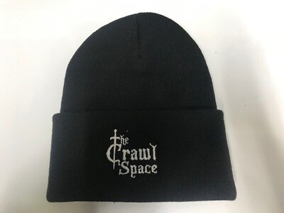 Crawl Space Beanie (white)