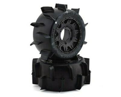 Pro-Line 30 Series Sand Paw LP 2.8 w/Raid Electric Rear Wheels (2) (Black) (Z3)