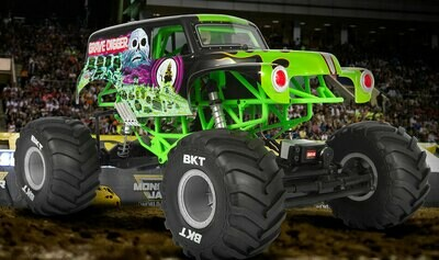 Axial Racing SMT10 Grave Digger 1/10th 4wd Monster Truck RTR