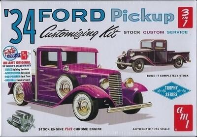 AMT '34 Ford Pickup Customizing Kit 1:25