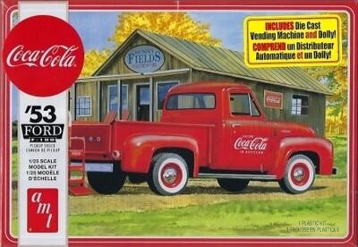 AMT '53 Ford F-100 Coca-Cola Pickup Truck 1:25