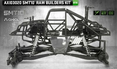 Axial SMT10 1/10 Monster Truck Raw Builders Kit
